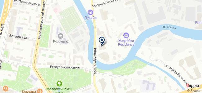 Виалайт на карте