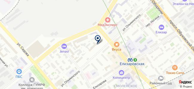 Перел Раша, ЗАО на карте