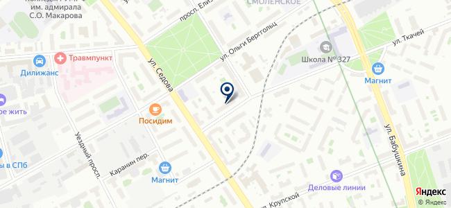 Инструмент Сервис, ООО на карте
