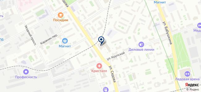 На Востоке, ООО на карте
