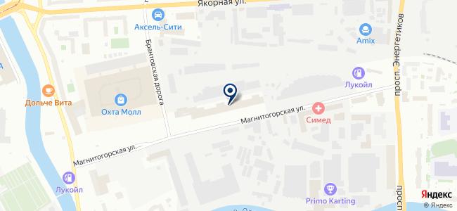 СпортМебель на карте