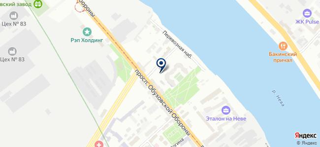 СЕМПО, ЗАО на карте
