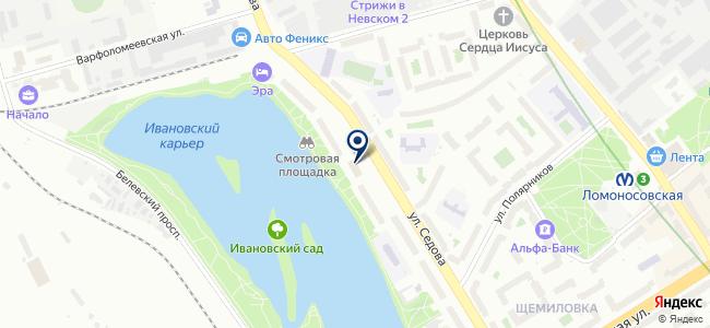 Мастер-Сервис, ЗАО на карте