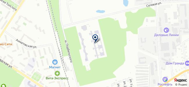 Астрон на карте