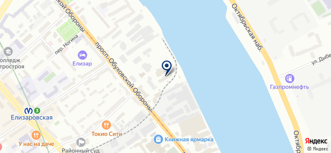 Балтийская корпорация, ЗАО на карте