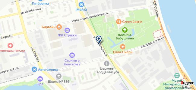 Абсолют-Лайт на карте
