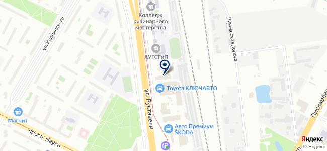 СТАФОР РУС на карте