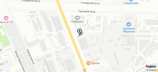 РегионСнаб на карте
