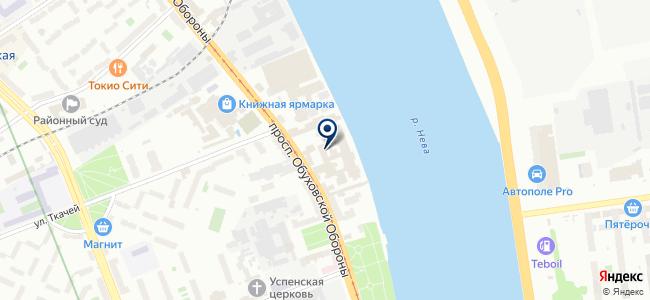 ОВД-Энергомонтаж, ЗАО на карте