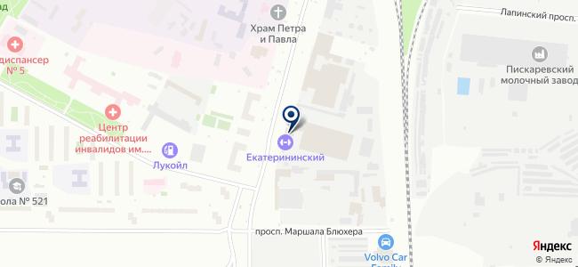 Интерплюс на карте