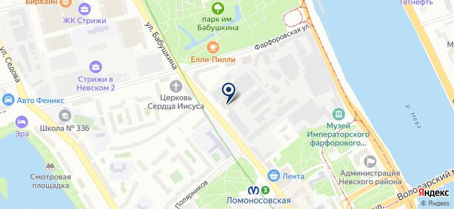 ИНКРОМ, ЗАО на карте