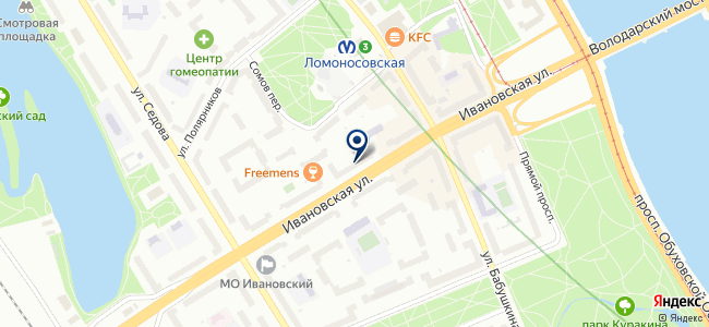 Скупка на карте