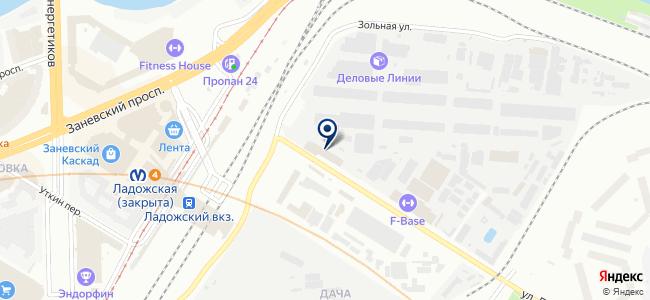 Аэрохолод на карте