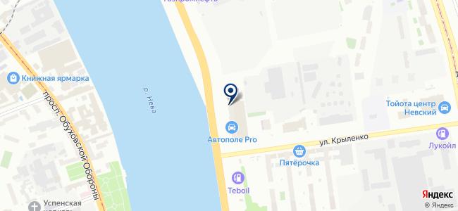 Белтика, ООО на карте