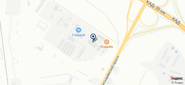 Светодиодъ на карте