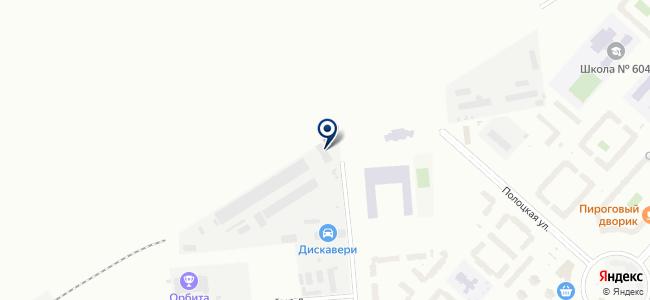 Сектор Трейд, ЗАО на карте