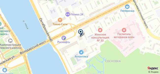 Сеть магазинов товаров для дома и ремонта на карте