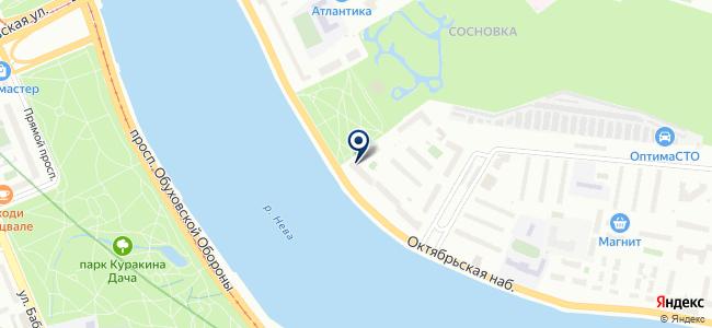 БИСЭТ, ЗАО на карте