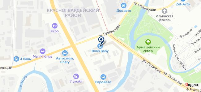 МегаСнаб СПб, ООО на карте