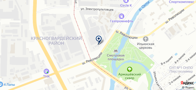 Эвелайт СПб, ООО на карте