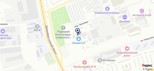Бетранс, ООО на карте