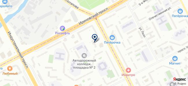 Магазин стройхозтоваров на проспекте Наставников, 46 к2 на карте