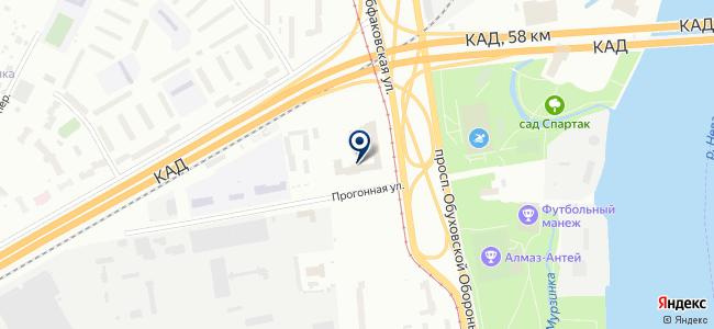СевЗапЭнергоСтройМонтаж, ЗАО на карте