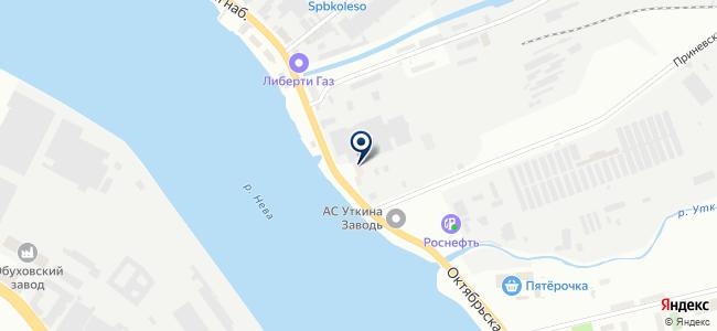 Ориент СПб, ООО на карте