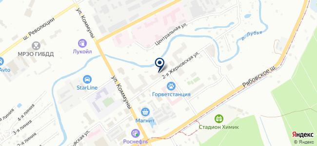 ТрансКолЭнерго на карте
