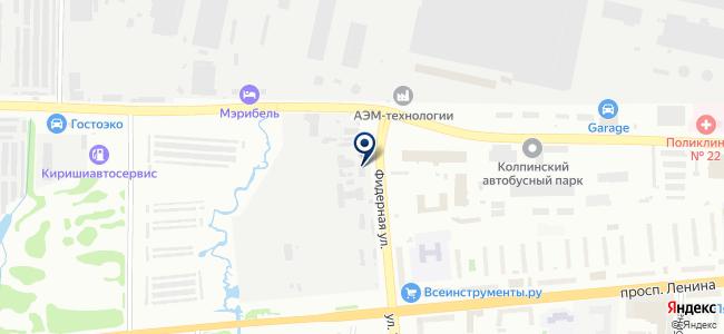 ТПК Радикон, ООО на карте