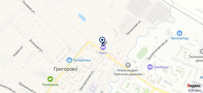 Кабинет, ООО на карте