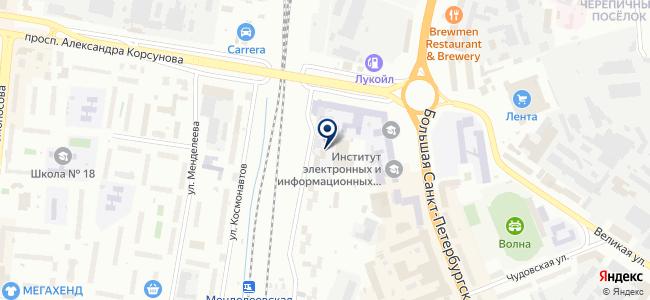 Омега, ФГУП на карте