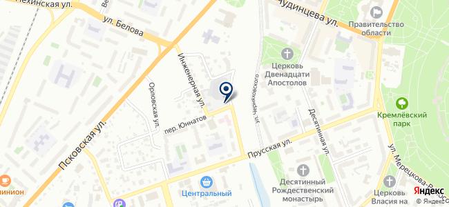 Автобаза Правительства Новгородской области, ГОБУ на карте