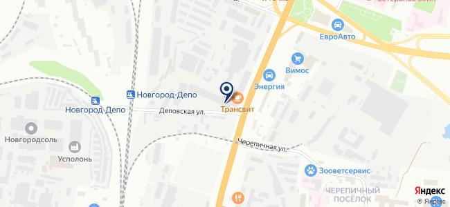 Светомир на карте
