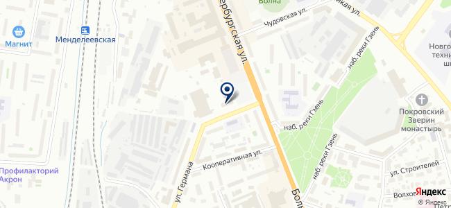 Центральная диспетчерская служба общественного транспорта, МУП на карте