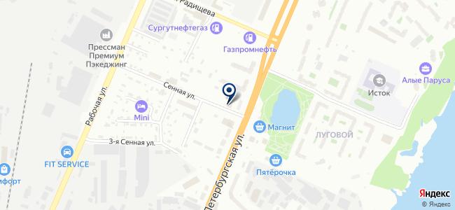 Новотелекс на карте