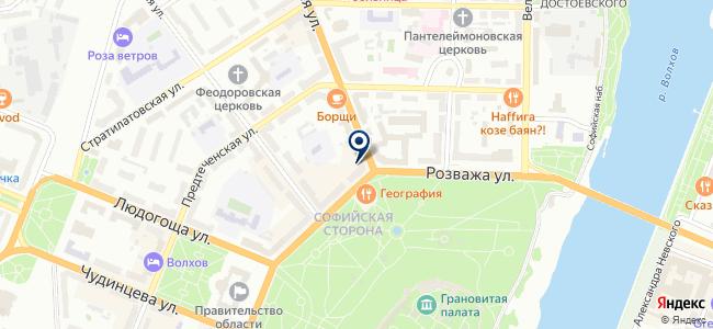 Спецавтоматика-Н, ООО на карте