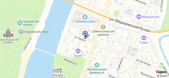 Лига-комплект, ООО на карте