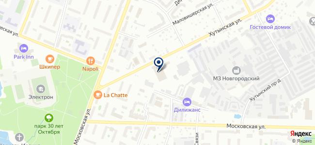 ПАТ-2, МУП на карте