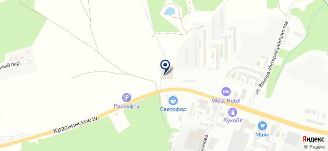 Верона-Моторс-Смоленск на карте