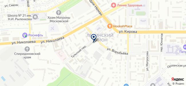 Промышленная компания РеалТек, ООО на карте