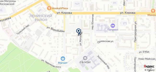 Смоленские электросети, ООО на карте