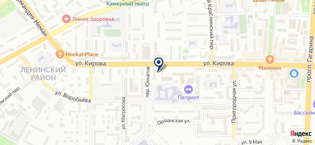 Радиомир, магазин электроники и средств связи на карте