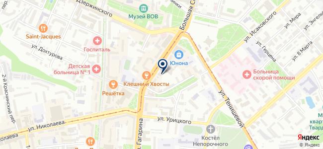 Спокойствие вашего дома, ООО на карте