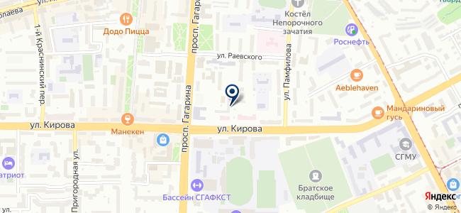 Минотавр, ООО на карте