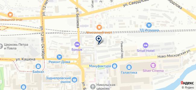 НИИ Современных телекоммуникационных технологий, ЗАО на карте