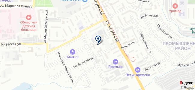 Эталон и К на карте