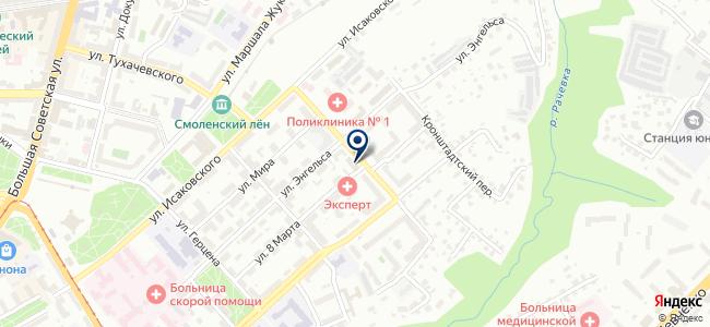 ИТЦТР, Инженерно-технический центр технических регламентов, ЗАО на карте