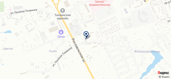 Автоблюз на карте