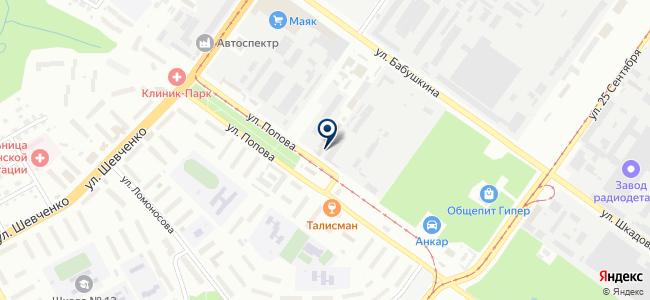 Технохим, производственно-торговая компания на карте